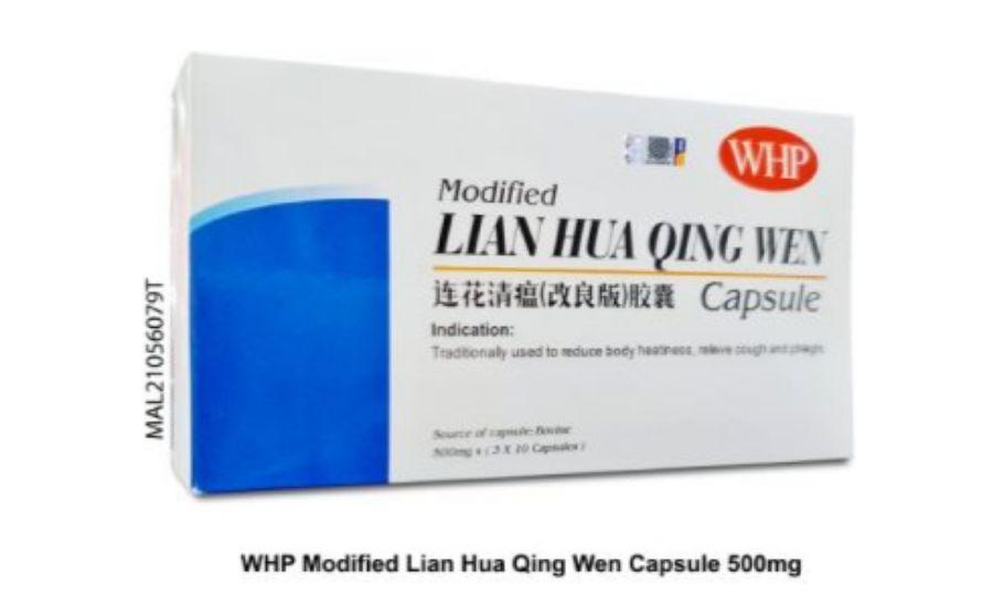 Feel Better with WHP Modified Lian Hua Qing Wen Capsule