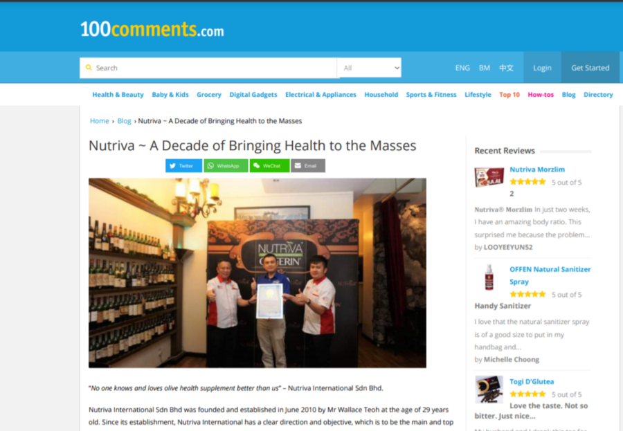 A Decade of Bringing Health To The Masses